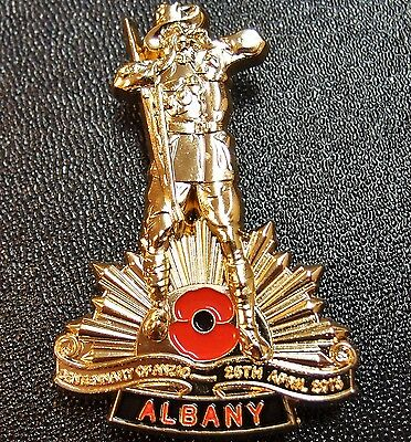 *anzac Day Ww1 100Th Anniversary Albany *limited Edition* Badge Medal Numbered