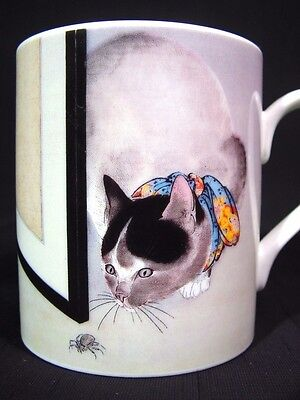 Cat & Spider Toko Oide Coffee Mug Famous Image Metropolitan Museum of Art