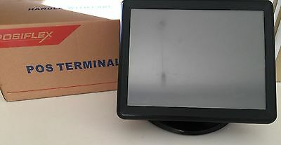 "15"" POS Terminal, Register, Touch Screen Computer, 80GB HDD, 2GB RAM, Windows 10"