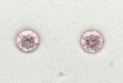 Natural Argyle Pink Diamond 2=0.36ct 7PP/Si2