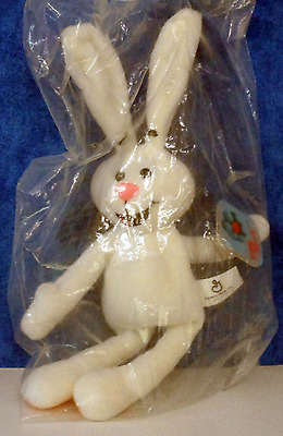 BREAKFAST BABIES, TRIX RABBIT, General Mills 1997 Plush  Beanie toy E9