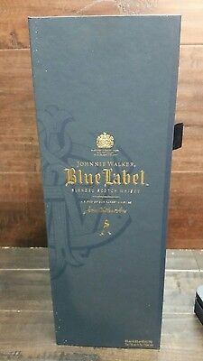 Pre owned Johnny Walker Blue Label Bottle and Gift Box