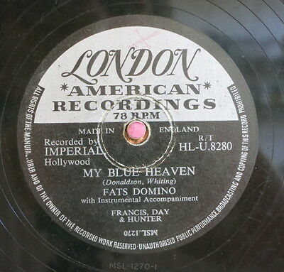 Fats Domino / My Blue Heaven & I`m In Love Again (53-1113)