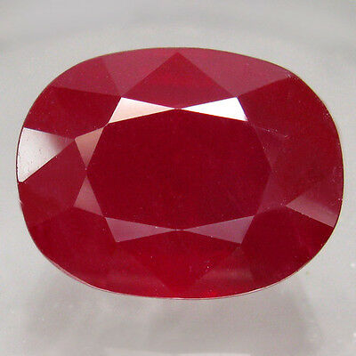 14.66ct.AMAZING GEM! 100%NATURAL TOP BLOOD RED RUBY MADAGASCAR BIG AA!