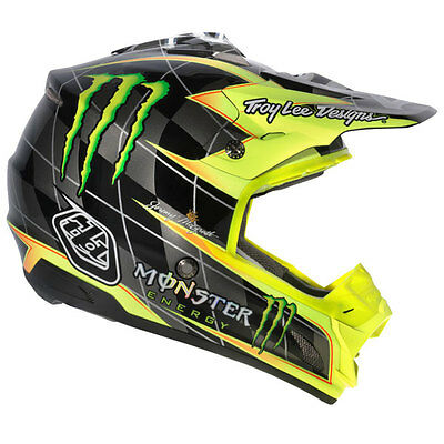Troy Lee Designs SE3 Monster Energy McGrath Helmet Peak