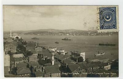 AK Istanbul, Constantinople, View of Bosphorus from Pera