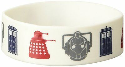 Doctor Who Icons Rubber Collectable Wristband