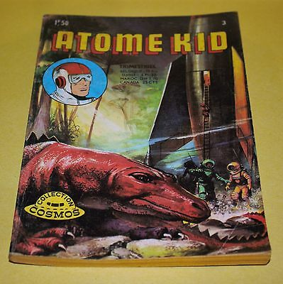 BD Collection cosmos ATOME KID N°3