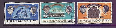 Barbados  1968  25th Ann. Girl Scouts, used.