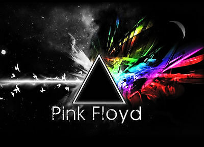 PINK FLOYD - Dark Side of the Moon - Explosion - Canvas Print Poster 18X12""