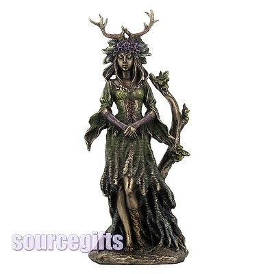 New * Lady Of The Forest * Pagan Wicca Figurine Ornament From Nemesis Now D1178