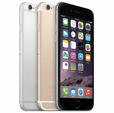 Apple iPhone 6 Smartphone - 16 64 128 GB Unlocked Space Grey  Gold Silver