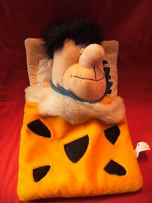 Vintage Superdrug  Fred Flintstones  Rare Hot Water Bottle Cover  14""
