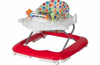 Baby By Chad Valley Rainbow Lights & Sounds Baby Walker