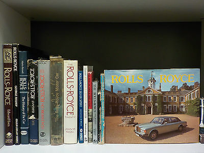 Various Books On Rolls-Royce - 14 Books Collection! (ID:47216)