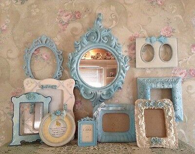 Ornate Open Picture Frames Gold~Red  Vintage Style~Wedding~ Romantic Lot 10