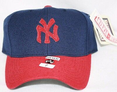 11423f1768088 1910 New York NY YANKEES Baseball Fitted Hat Cap AMERICAN NEEDLE Cooperstown