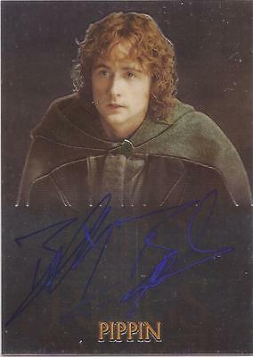 """LOTR Trilogy - Billy Boyd """"Pippin"""" Auto / Autograph Card"""