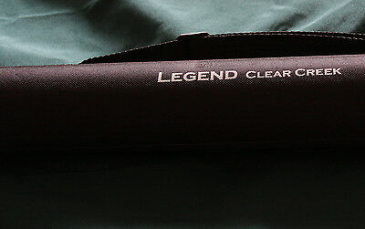 Fly Rods Legend Clear Creek Fly Rods With roll Bag Tube & Lifetime Guarantee