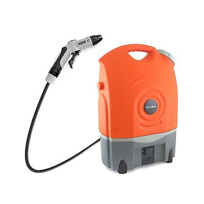 Pure Clean Outdoor Portable Spray Pressure Washer Cleaner System Built in Rec...