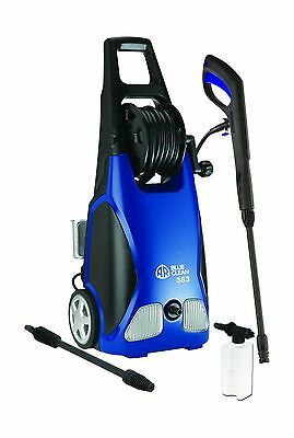 AR Blue Clean AR383 1900 PSI 1.5 GPM 14-Amp Electric Pressure Washer with Hos...