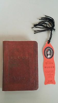 """""""SIGNED"""" 2006 Mark Ryden Blood Book With Numbered Bookmark 025 (Rare)"""