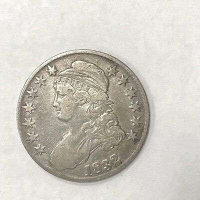 Under Wholesale! 1832 Capped Bust Half Dollar Vf/xf