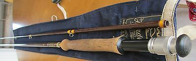 Hardy Jet 9ft No7 Fibatube fly rod, Stunning condition and original sleeve.