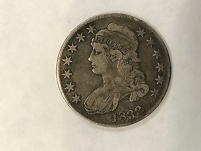 Under Wholesale! 1833 Vf/xf Capped Bust Half Dollar