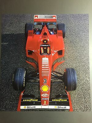 2000 Ferrari F1-2000 Formula 1 Race Car Print Picture Poster RARE!! Awesome L@@K