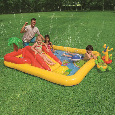 Intex Kids Ocean Play Water Play Centre with Inflatable Paddling Pool #57454