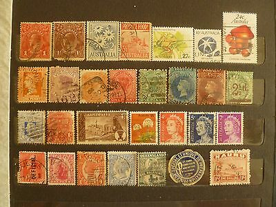 Australia States old collection including rare, valuable South Australia stamps.
