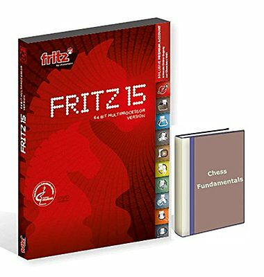 Fritz 15 Chess Playing Software Program & ChessCentral's Chess Fundamenta......