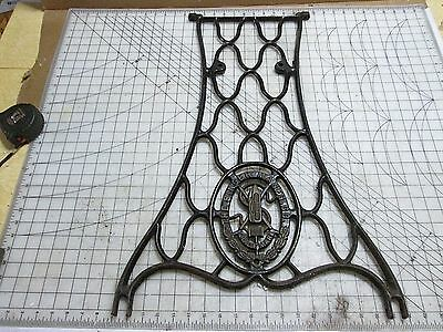 SINGER Sewing Machine - One Treadle Base Stand Leg - Cast Iron