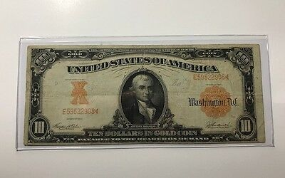 1907 $10 Gold Certificate - Nice Large Size Note