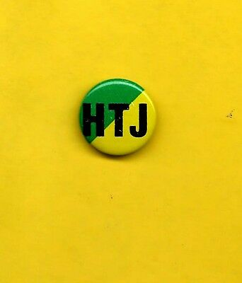 Stevie Wonder 1980 Hotter Than July badge button pinback OFFICIAL PROMO  QQ ww