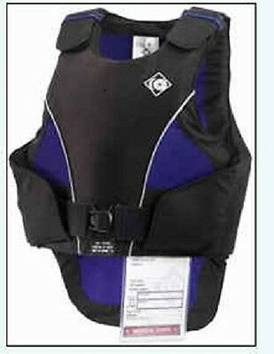 Charles Owen UltraLite Body Protector Vest Navy Small Adult NEW
