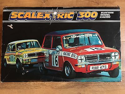 Scalextric 300 Electric Model Racing with C579 Power Unit