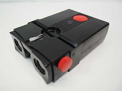 Vintage Realist Stereo Red Button Slide Viewer