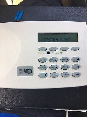 DMP 7360-W 7360 Thinline Icon Keypad white XT Command Processor Panel