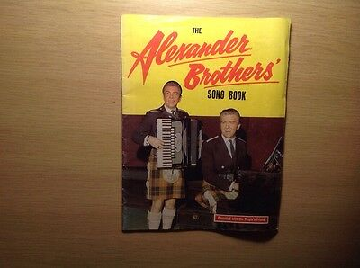 Alexander Brothers Song Book Scottish - Peoples Friend