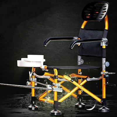 High Quality Outdoor Multifunctional Fishing Chair Folding Camping Portable Seat