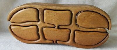 Richard Rothbard Puzzle Box for Trinkets Jewelry Bandsaw Very Neat & Rare!!!