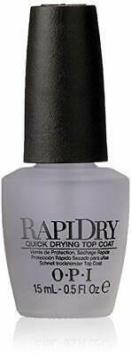 OPI RAPIDRY Top Coat- Quick Dry Top Coat  0.5oz/15ml
