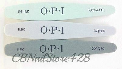 OPI - Professional Nail Files - Choose your favorite File or Buffer 1 ct