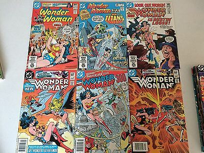 Wonder Woman #300 lot of 15 early 1980's issues first series nice shape