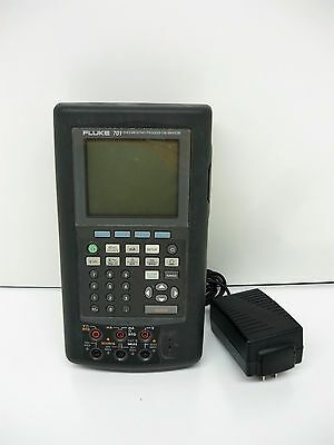 Fluke 701 Documenting Process Calibrator w/ Battery Replacement Adapter
