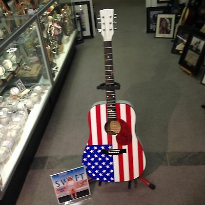 TAYLOR SWIFT SIGNED  New Full Size  GUITAR Just Cut The PRICE in HALF