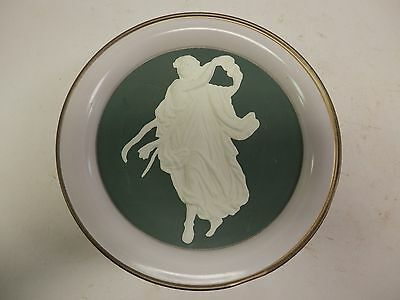 Vintage - Paradise Fruit Cake Tin -  The Spirit of Dance - Wedgewood Style 10""