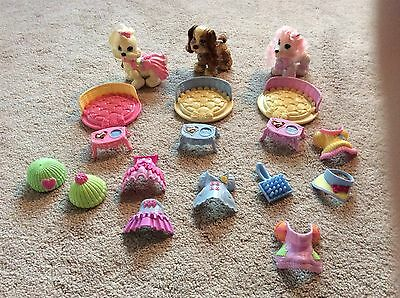 FISHER PRICE SNAP N STYLE Pets Pet Dogs Puppies Dog Lot Clothes Accessories